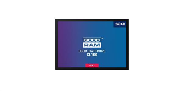 """Goodram 480GB SSD CL100 SATA III 2,5 """" Gen. 2, 6Gb/s"""