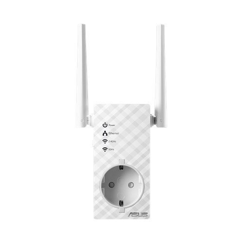 ASUS RP-AC53, Dual Band Wireless-AC750 wall-plug Ranger Extender