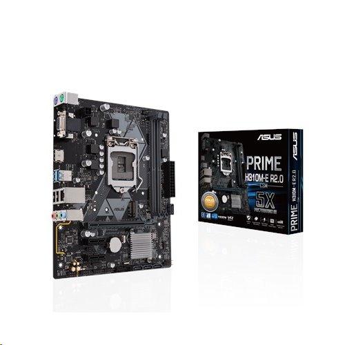 ASUS PRIME H310M-E R2.0/CSM soc.1151 H310 DDR4 mATX M.2 D-Sub HDMI
