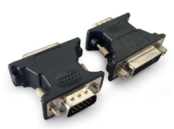 Gembird adaptér VGA (M) na DVI-A (F)