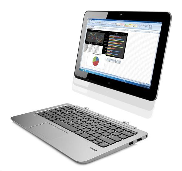 HP Elite x2 1011 G1, M-5Y51, 11.6 FHD/Touch, 8GB, SSD 256GB, W8.1Pro, 3Y, WiGig/WWAN/FpR/BacklitKbd