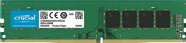 4GB DDR4 3200 MT/s (PC4-25600) CL22 DR x16 Crucial UDIMM 288pin