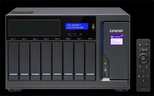 QNAP™ TVS-882BRT3-i7-32G 8x3.5
