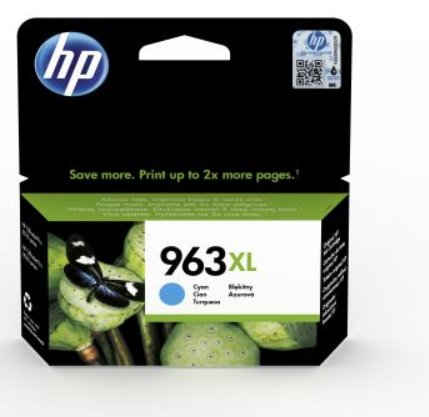 HP 963XL High Yield Cyan Original Ink Cartridge