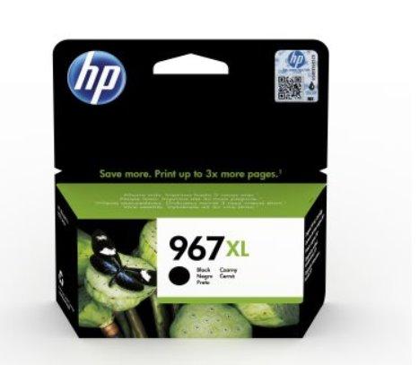 HP 967XL High Yield Black Original Ink Cartridge
