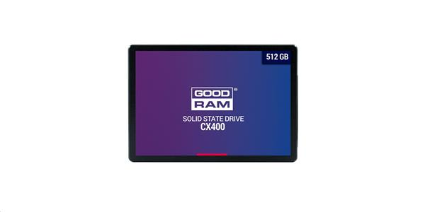 "Goodram 512GB SSD CX400 SATA III 2,5 "" Gen. 2, 6Gb/s"