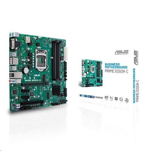 ASUS PRIME B360M-C soc.1151 B360 DDR4 mATX M.2 HDMI 2xDP D-Sub