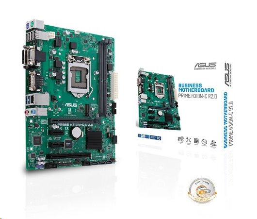 ASUS PRIME H310M-C R2.0 soc.1151 H310 DDR4 mATX M.2 DVI D-Sub
