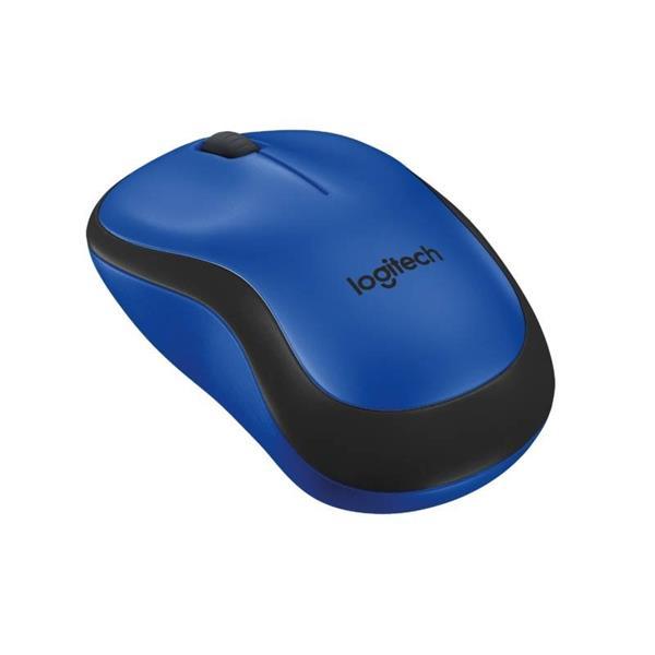 Logitech® M220 Silent, blue, pouzivane, po servise