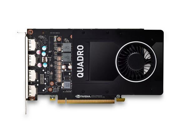 NVIDIA Quadro P2200 5GB (4)DP GFX