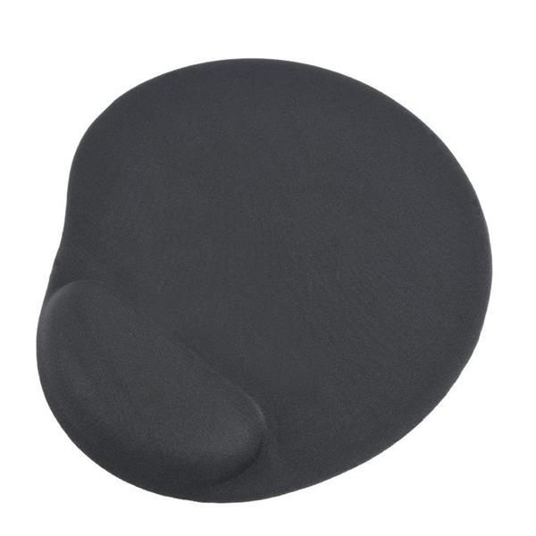 Gembird gelová podložka pod myš s podporou pre zápästie, čierna