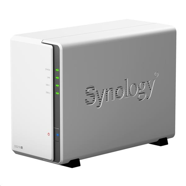 Synology™ DiskStation DS216j 2x HDD NAS