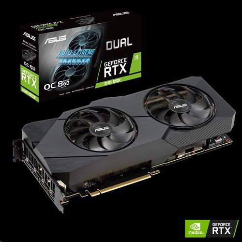 ASUS DUAL-RTX2080S-O8G-EVO 8GB/256-bit, GDDR6, HDMI, 3xDP