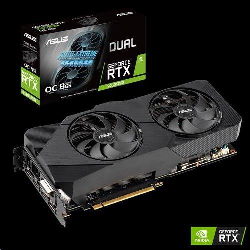 ASUS DUAL-RTX2060S-O8G-EVO 8GB/256-bit GDDR6 DVI 2xHDMI 2xDP