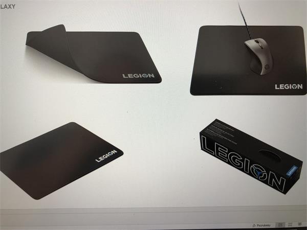 Lenovo Gaming Mouse Pad - WW-podlozka pod mys