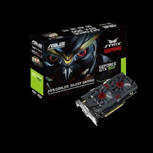 ASUS STRIX-GTX950-DC2OC-2GD5-GAMING 2GB/128-bit GDDR5, DVI, HDMI, DP