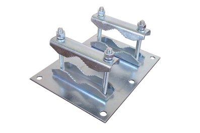 CSAT PLZ2 - Plech so žralokmi pre trubku o priem. max. 65mm