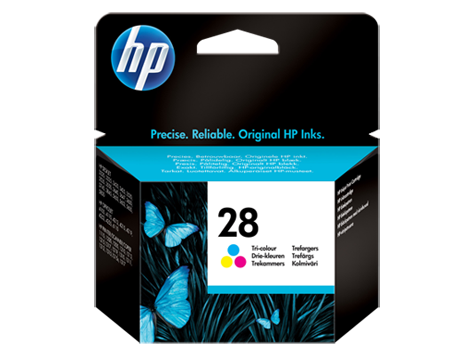 HP No. 28 tri-color inkjet print catridge (8 ml)