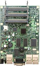 MIKROTIK RouterBOARD 433AH + L5 (680MHz; 128MB RAM, 3xLAN, 3xMiniPCI)