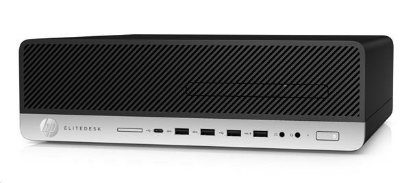 HP EliteDesk 800 G5 SFF, i5-9500, IntelHD, 8GB, SSD 256GB M.2 NVMe TLC, DVDRW, W10Pro, 3-3-3