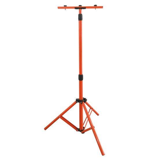 Solight stojan teleskopický pre LED reflektory, 60-150cm, pre 1-2 reflektory, oranžová farba