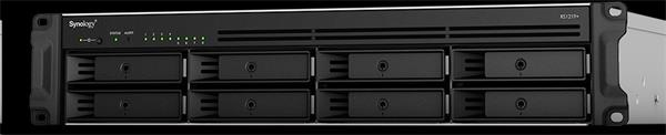 Synology™ RackStation RS1219+ 8x HDD NAS VMware®, Citrix®, Microsoft® Hyper-V®rack 1U