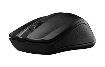 C-Tech myš WLM-01 čierna, bezdrôtová wir, USB. Nano receiver