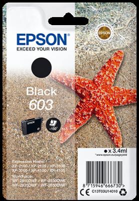 Epson atrament XP-2100/3100 black 3.4ml - 150 str.