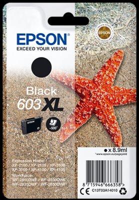 Epson atrament XP-2100/3100 black XL 8.9ml - 500 str.