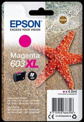 Epson atrament XP-2100/3100 magenta XL 4ml - 350 str.
