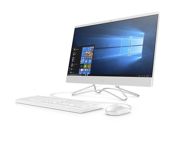 HP 24-f1004nc AiO, 24.0 FHD, AMD Ryzen3 3200U, UMA, 8GB, SSD 512GB, W10, 2-2-0, white