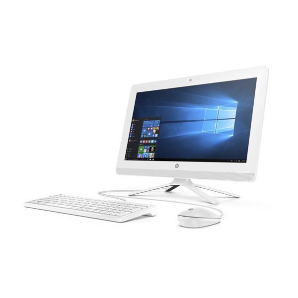 HP 20-c412nc, Celeron J4005, 20.0 FHD, IntelUHD, 8GB, HDD 1TB7k2, noODD, W10, 2-2-0, white