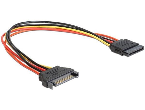 Gembird kábel SATA predlženie napájania, 0,3 m