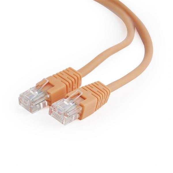 Gembird patch kábel CAT5e, UTP, 0.5 m, oranžový
