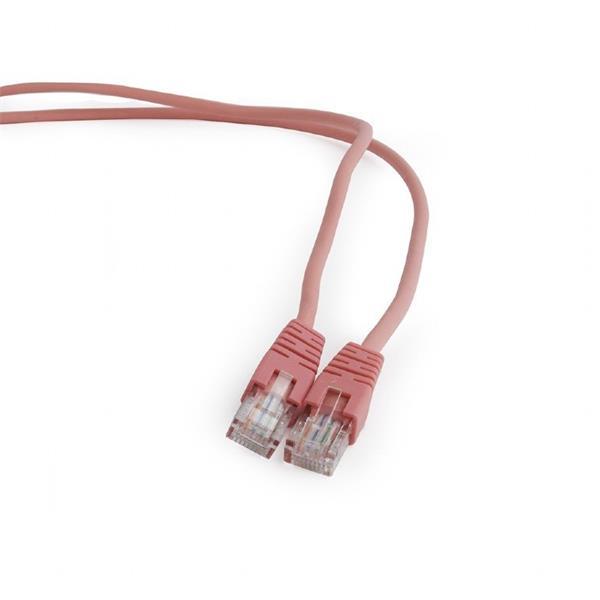 Gembird patch kábel CAT5e, UTP, 1 m, rúžový