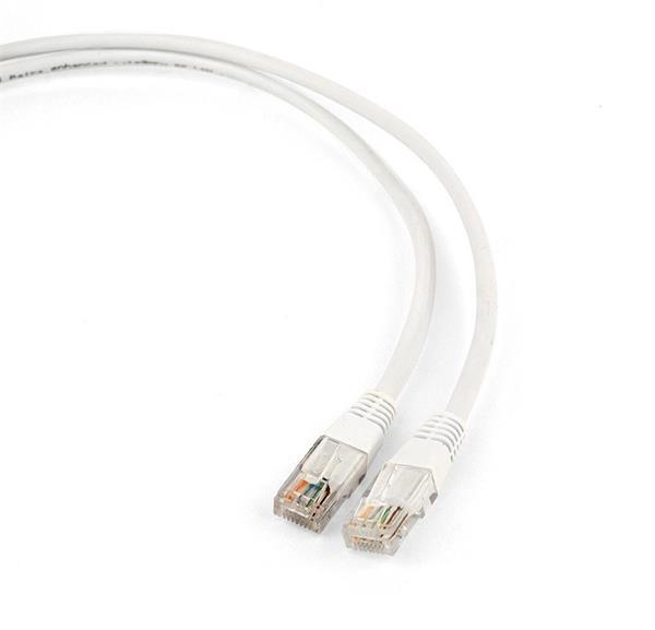 Gembird patch kábel CAT5e, UTP, 3 m, biely