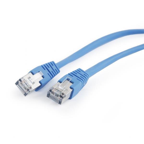 Gembird patch kábel CAT5e, FTP, 2 m, modrý