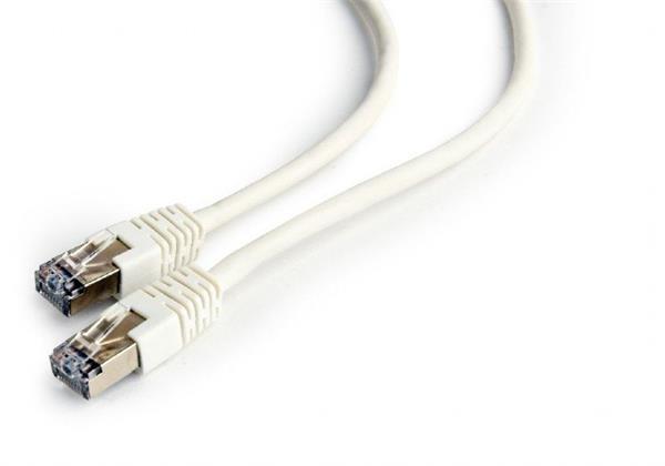 Gembird patch kábel Cat6 FTP, 0.25 m, biely