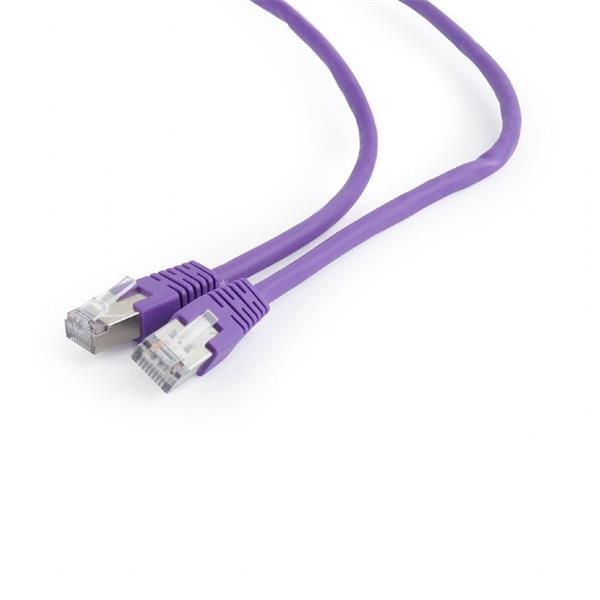Gembird patch kábel Cat6 FTP, 5 m, fialový