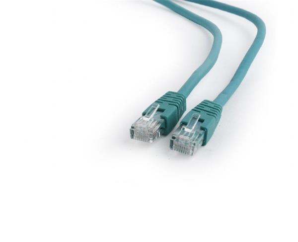 Gembird patch kábel Cat6 UTP, 0.5 m, zelený