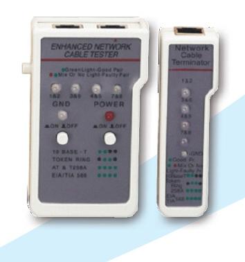 LAN Tester pre siete UTP/STP vrátane remote adap.