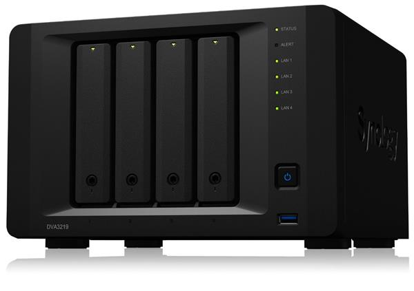 Synology™ Deep Learning NVR - DVA3219