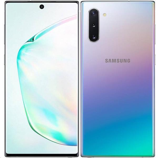 Samsung GALAXY Note10 256GB Duos strieborná