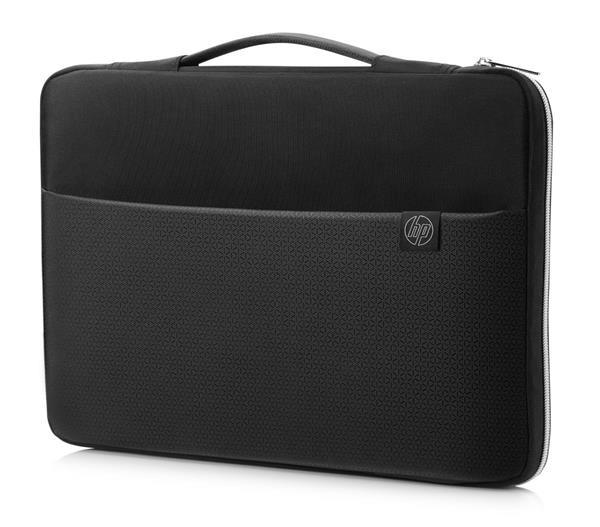 HP 15 Blk/Slv Carry Sleeve