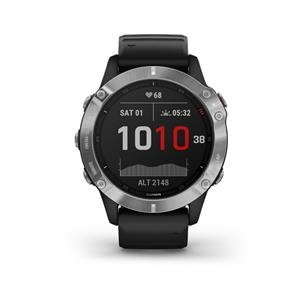 Garmin fénix 6 Silver, Black band