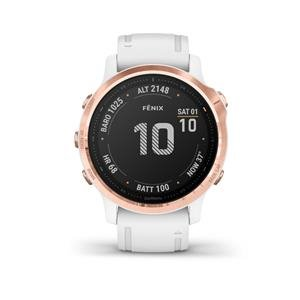 Garmin fénix 6S PRO, Rose Gold, White band