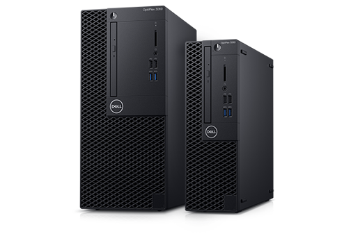 Optiplex 3070 SFF/Core i3-9100/8GB/256GB SSD/Intel UHD 630/DVD RW/Kb/W10Pro/3Y Basic Onsite