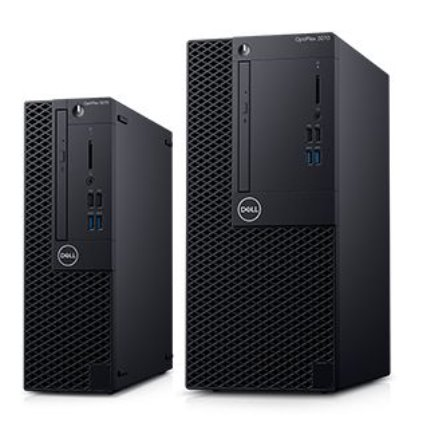 Dell Optiplex 3070 MT/Core i5-9500/8GB/1TB/Intel UHD 630/DVD RW/Kb/Mouse/260W/W10Pro/3Y Basic Onsite