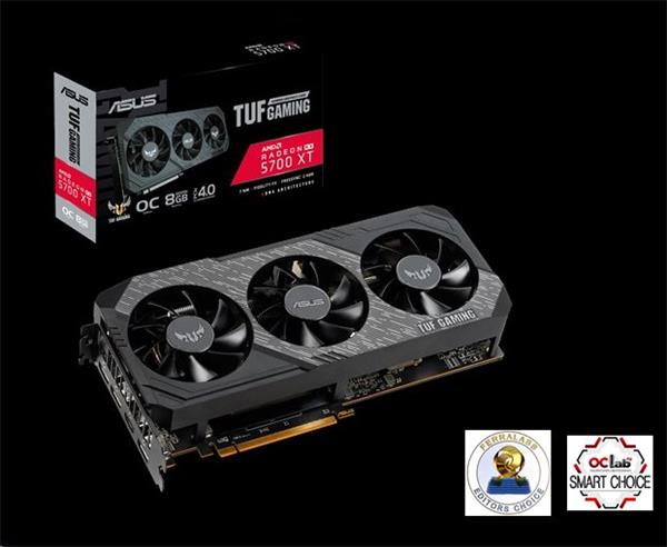 ASUS TUF 3-RX5700XT-O8G-GAMING 8GB/256-bit, GDDR6, HDMI, 3xDP