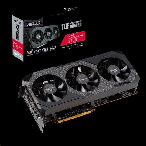 ASUS TUF 3-RX5700-O8G-GAMING 8GB/256-bit, GDDR6, HDMI, 3xDP